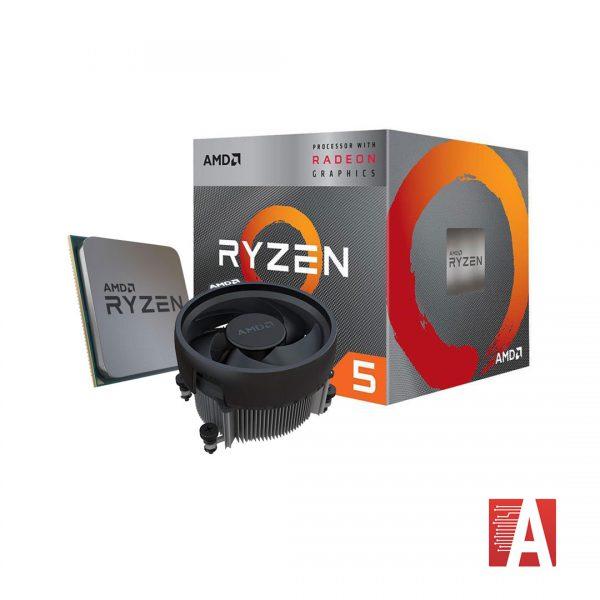 پردازنده Rayzen 3400G