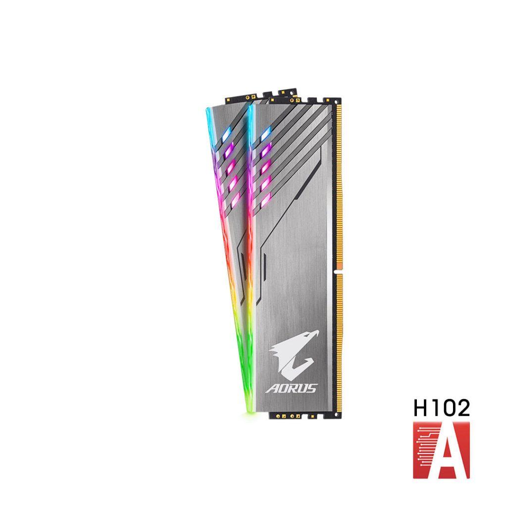 حافظه رم Aorus 8GB 2X
