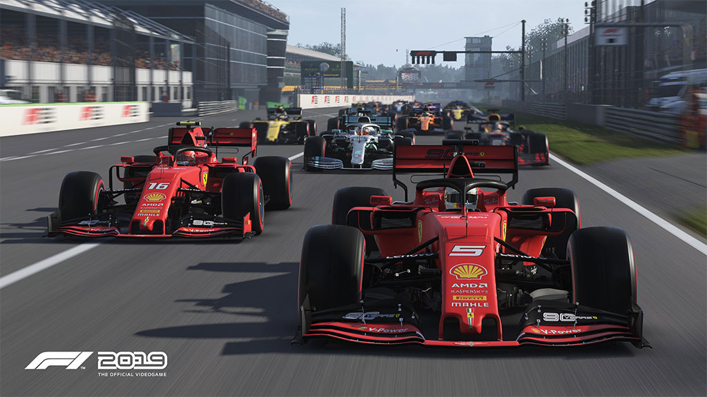 بازی ماشین سواری F1 2019