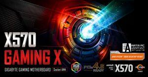 مادربرد گیگابایت X570 Gaming X