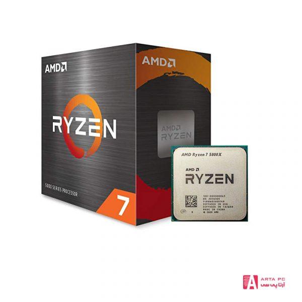 پردازنده مرکزی AMD Ryzen 5800X