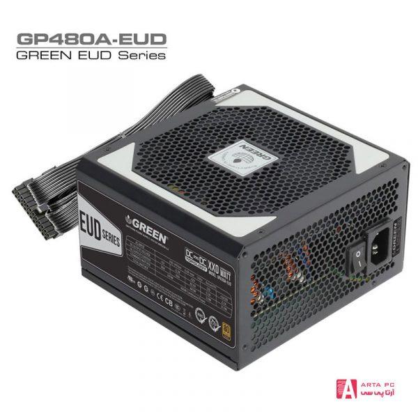منبع تغذیه کامپیوتر مدل GP480A-EUD